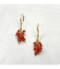 DEE080 - Coral Earrings
