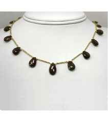 DEN034 - Andalucite Beaded Necklace