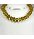 DEN050 - Citrine Beaded Necklace