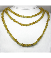 DEN068 - Citrine Beaded Necklace