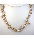 DENP018 - Fresh Water Keishi Pearl Necklace