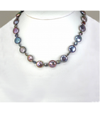 DENP026 - Fresh Water Coin Pearl Necklace