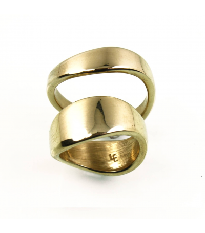 LEGB012 - 14kt Yellow Gold Wedding Bands