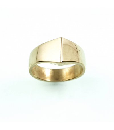 LEGB024 - 14kt Yellow Gold Wedding Band