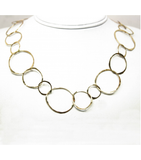 "LEHC014 - 14kt Yellow Gold 29"" Hammered Chain"