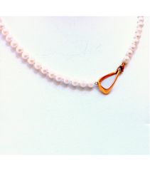 "LENP022 - 18"" Cultured Pearl Necklace"