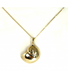 LEPN038 - 14kt Yellow Gold Nautical Jewelry