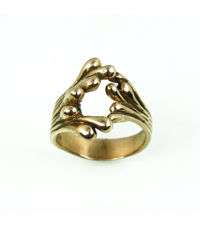 LEGR012 - 14kt Yellow Gold Ring