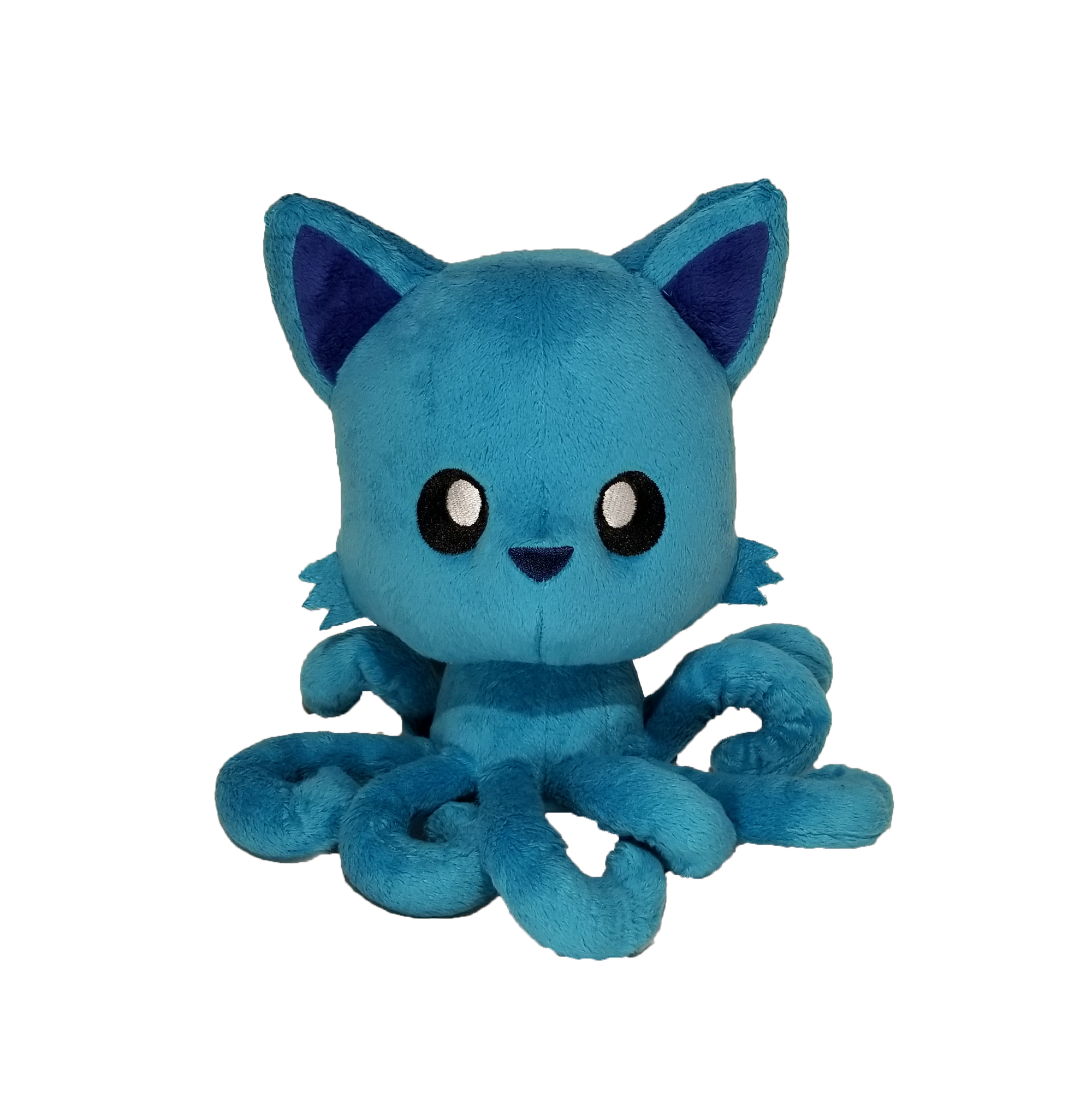 Paradise Blue Tentacle Kitty