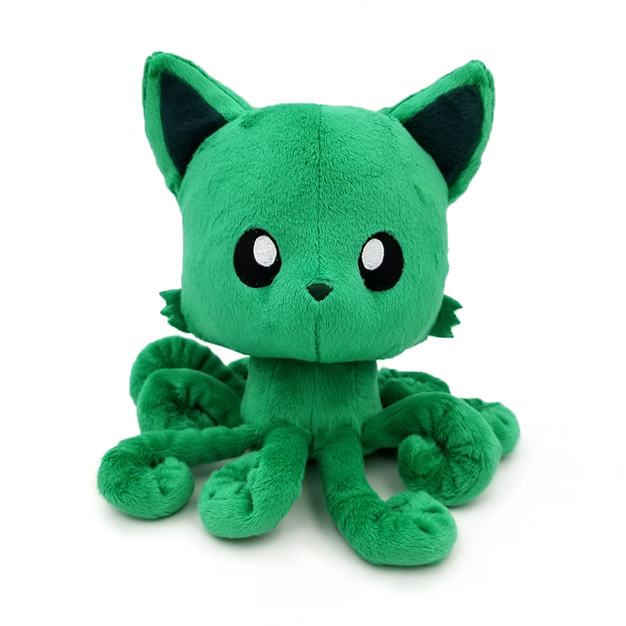 Emerald Tentacle Kitty