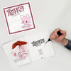 Signed Tentacle Kitty Coloring Book