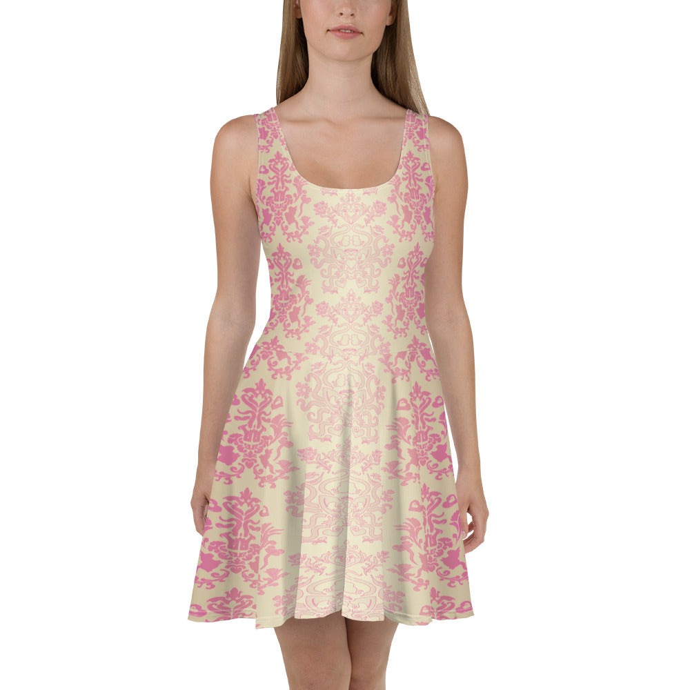 Princess Flower Skater Dress