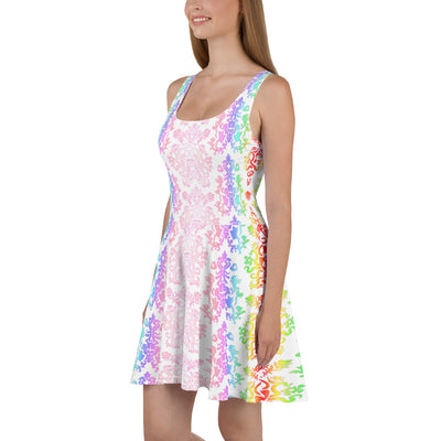 Rainbow Brighter Patreon Exclusive Skater Dress