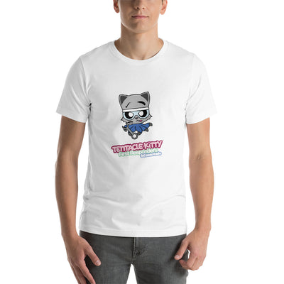 Mechanic Kitty Short-Sleeve Unisex T-Shirt