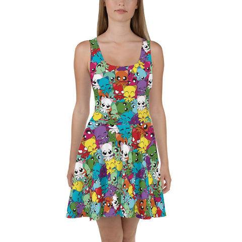 Mystery Little One Skater Dress
