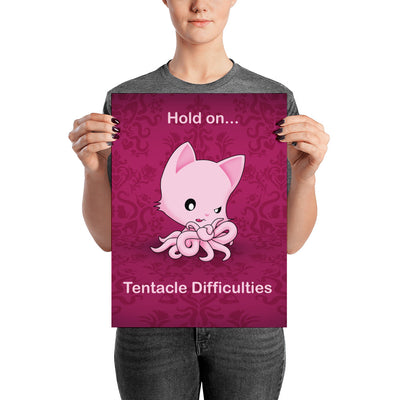 Tentacle Difficulties Poster