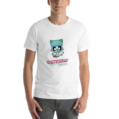 Lab Tech Kitty Short-Sleeve Unisex T-Shirt