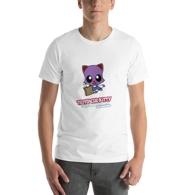 Grocery Kitty Short-Sleeve Unisex T-Shirt