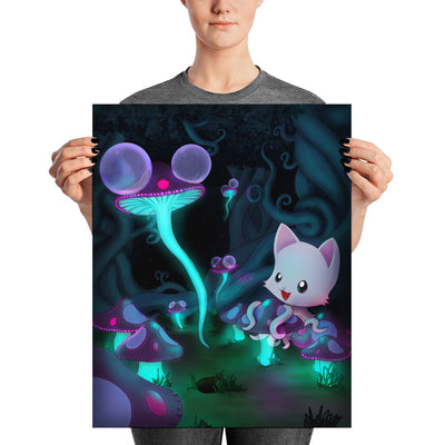 Mushbloom Poster