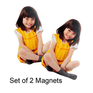 PhotoSculpture 4x6 Magnets (Set of 2)