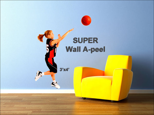 Wall A-Peel - 3'x4' </p>SUPER