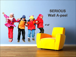 Wall A-Peel - 4'x5' </p>SERIOUS