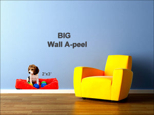 Wall A-Peel - 2'x3' </p>BIG