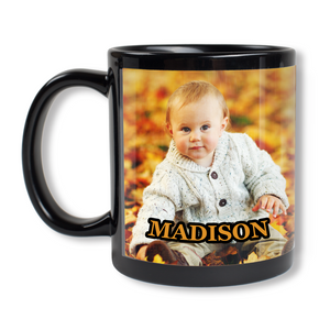 Coffee Mug - Black 11 oz