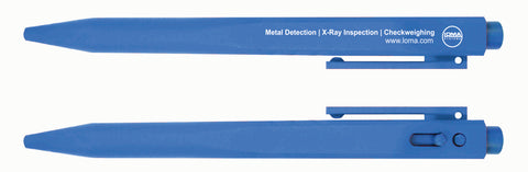 Metal Detectable Pen - Blue Ink