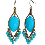 Chanderlier/drop Earrings Beaded Festival Wear With Love