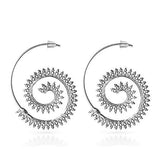 Chanderlier/drop Earrings Bijoux Swirl Spiral Wear With Love