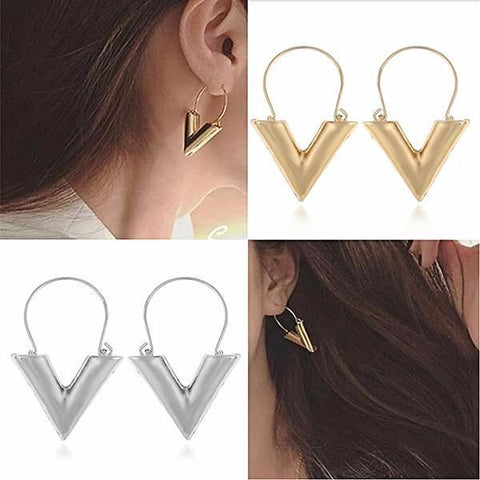 Chanderlier/drop Earrings Bijoux Ultra Modern V Shape Wear With Love