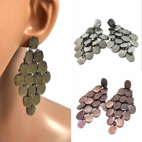 Chanderlier/drop Earrings Modern Metal Stud Drop Wear With Love