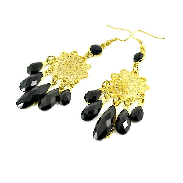 Chanderlier/drop Earrings Starburst Chandelier Wear With Love