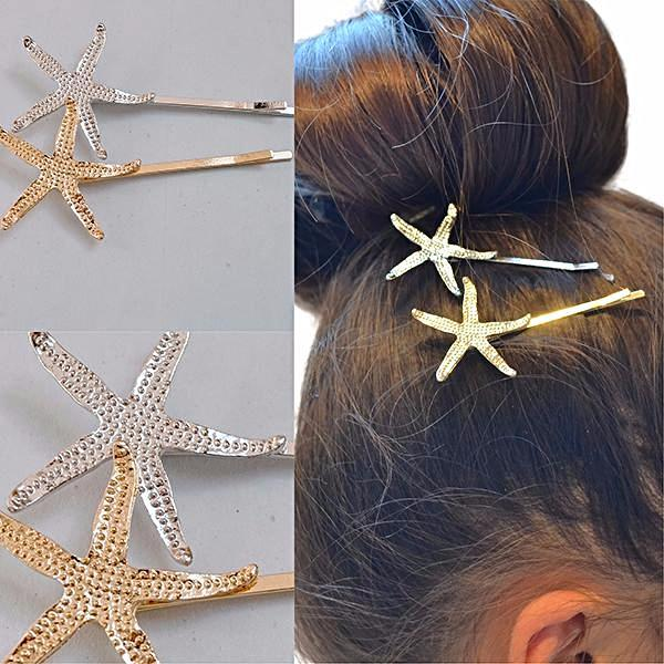 Hair Accesories Bijoux Starfish Slide Wear With Love