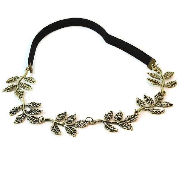 Hair Accesories Celebrity Grecian Olive Leaf Headband Wear With Love