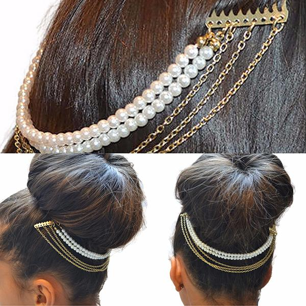 Hair Accesories Double Comb Slides Wear With Love