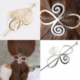 Hair Accesories Filigree Swirl Pin Ponytail Bun Holder Wear With Love