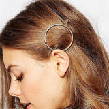 Hair Accesories Geometrical Moon Circle Triangle Slides Wear With Love