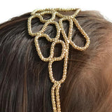 Hair Accesories Irregular Modern Rope Gold Chain Band Alice Wear With Love