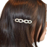 Hair Accesories Rhinestone Link Slide Wear With Love