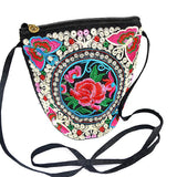 Handbags & Purses Ethnic Hand Embriodered Hmong Long Body Barrel Bag Wear With Love