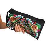 Handbags & Purses Ethnic Hand Embriodered Tribal Wrist Purse Wear With Love
