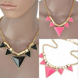 Modern Necklaces Geometric Triangular Wear With Love
