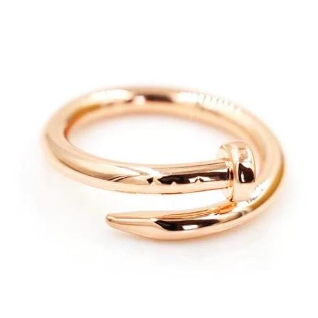 Bijoux Gold Plated Nail Ring