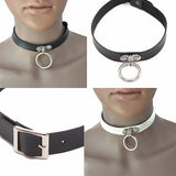 Necklace_Statement Modern Ring Choker Wear With Love