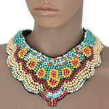 Necklace_Statement Summer Of Love Collar Necklace Wear With
