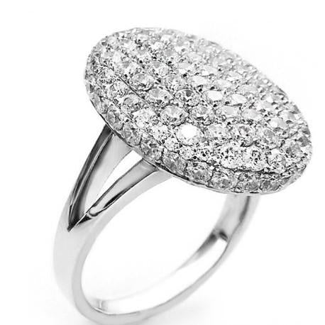 Rings_Statement Austrian Crystal Oval Band Ring Wear With Love