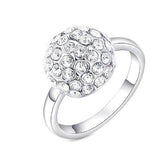 Rings_Statement Austrian Crystal Solitaire Ring Wear With Love