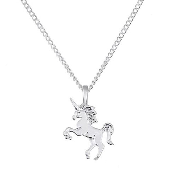 "Unicorn ""Life Is Magical"" Inspirational Pendant Necklace"